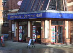 Coventry Central Hall buildingfrontage